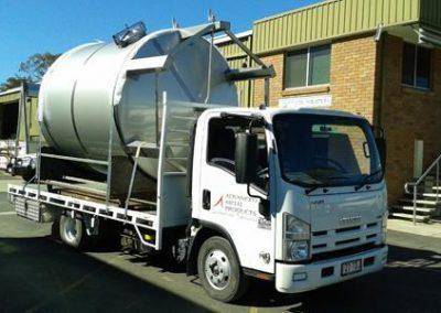 Industrial Tanks - Advanced Metal Products Warwick QLD 01
