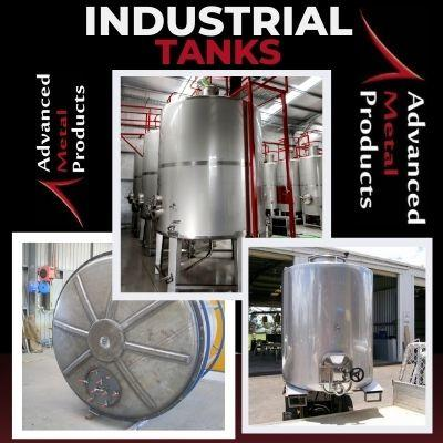 Industrial Tanks - Advanced Metal Products Warwick QLD