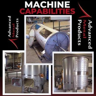 Machine Capabilities - Advanced Metal Products Warwick QLD