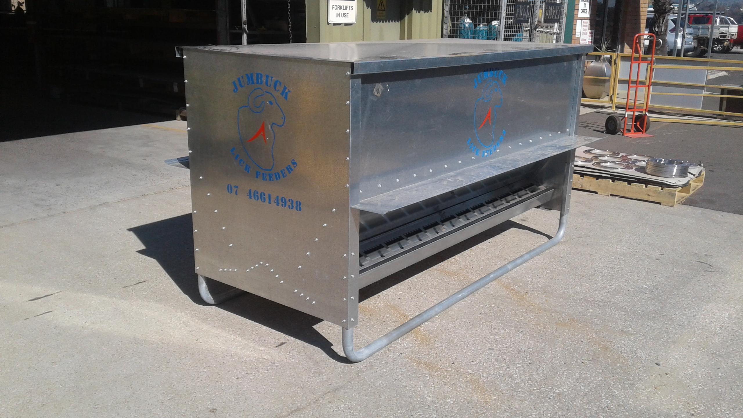 Sheep Feeders - Advanced Metal Products Warwick QLD 02