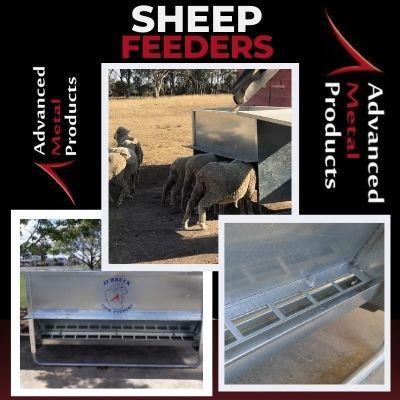 Sheep Feeders - Advanced Metal Products Warwick QLD