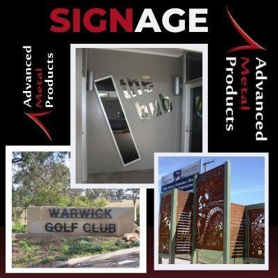 Signage - Advanced Metal Products Warwick QLD