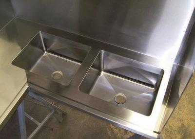 Stainless Steel Benching - Advanced Metal Products Warwick QLD 01