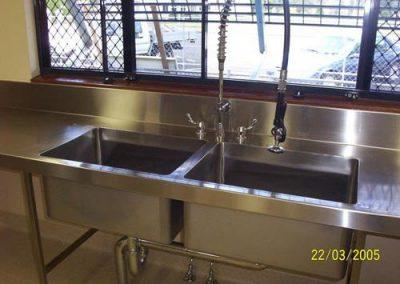 Stainless Steel Benching - Advanced Metal Products Warwick QLD 03