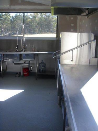 Stainless Steel Benching - Advanced Metal Products Warwick QLD 06