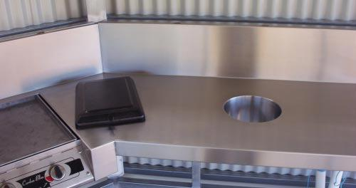 Stainless Steel Benching - Advanced Metal Products Warwick QLD 09