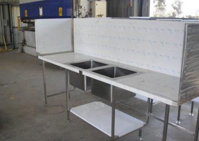 Stainless Steel Benching - Advanced Metal Products Warwick QLD 10